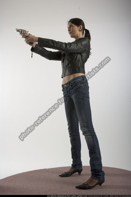 Woman Adult Athletic White Martial art Standing poses Casual