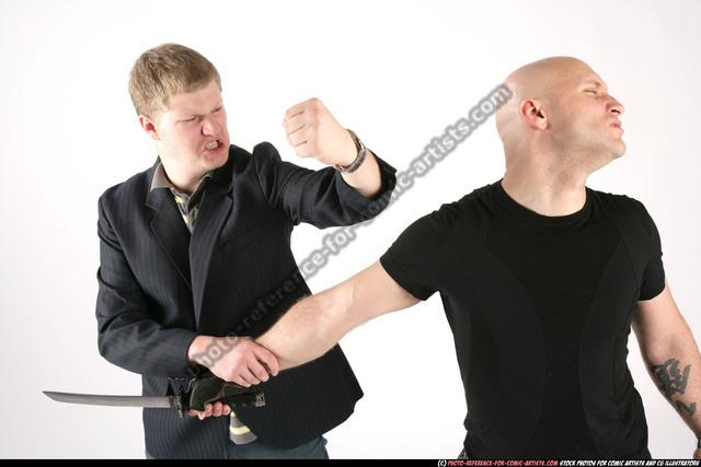 Adult Average White Fist fight Fight Sportswear Men