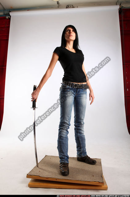 Woman Adult Athletic White Martial art Standing poses Sportswear