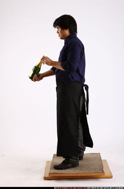 Man Adult Average Carrying Standing poses Business Asian