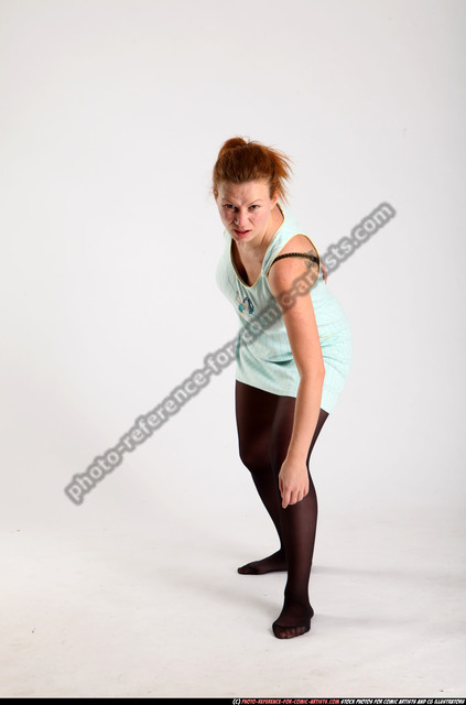 Woman Adult Average White Dead Moving poses Casual
