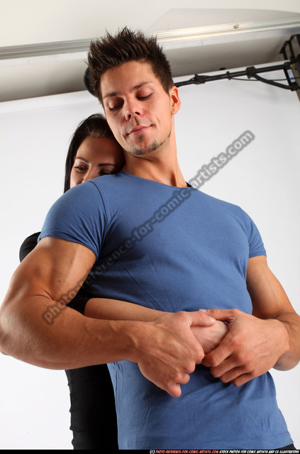 Man & Woman Adult Athletic White Daily activities Detailed photos Casual