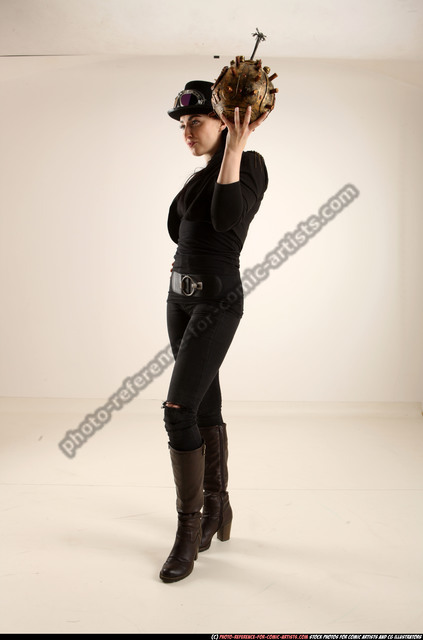 Woman Adult Athletic White Carrying Standing poses Casual