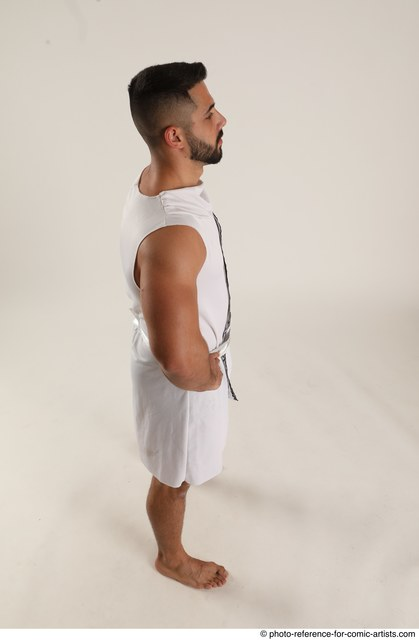 Man Adult Muscular White Neutral Standing poses Casual