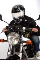 2009 01 BIKER RIDING HELMET 03