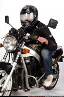 2009 01 BIKER RIDING HELMET 01