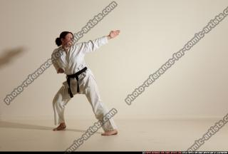2012 03 MICHELLE SMAX KARATE POSE 11 072