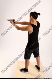 2014 06 TRIAD MOB STANDING AIMING PISTOL 02 A