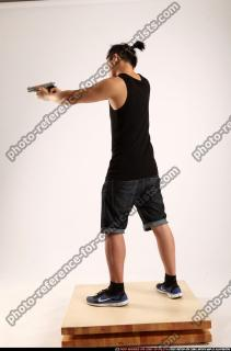2014 06 TRIAD MOB STANDING AIMING PISTOL 02 C