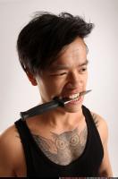 2014 07 TRIAD MOB KNIFE TEETH POSE 10