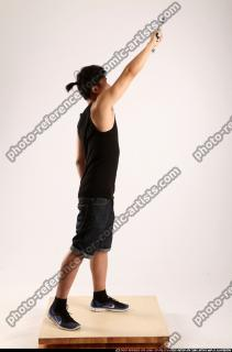 2014 08 TRIAD MOB STANDING RAISING UZI 06 B