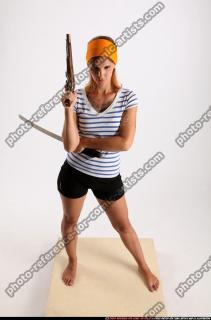 2014 08 AMY PIRATE FLINTLOCK SWORD GUARDING POSE 00 A
