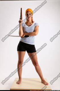 2014 08 AMY PIRATE FLINTLOCK SWORD GUARDING POSE 00 C