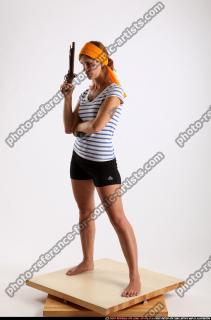 2014 08 AMY PIRATE FLINTLOCK SWORD GUARDING POSE 01 B