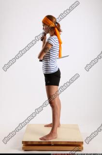2014 08 AMY PIRATE FLINTLOCK SWORD GUARDING POSE 02 B