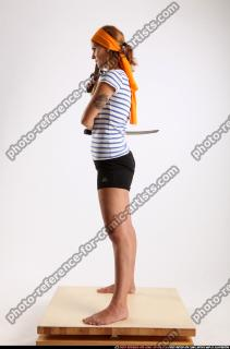 2014 08 AMY PIRATE FLINTLOCK SWORD GUARDING POSE 02 C