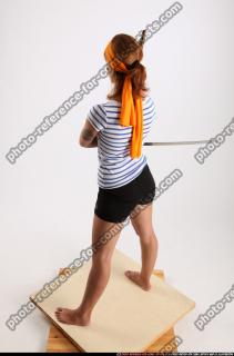 2014 08 AMY PIRATE FLINTLOCK SWORD GUARDING POSE 03 A