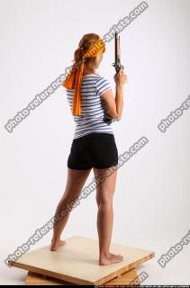 2014 08 AMY PIRATE FLINTLOCK SWORD GUARDING POSE 05 B