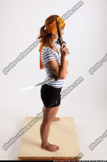2014 08 AMY PIRATE FLINTLOCK SWORD GUARDING POSE 06 A