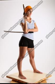 2014 08 AMY PIRATE FLINTLOCK SWORD GUARDING POSE 07 C
