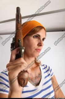 2014 08 AMY PIRATE FLINTLOCK SWORD GUARDING POSE 09