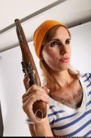 2014 08 AMY PIRATE FLINTLOCK SWORD GUARDING POSE 10