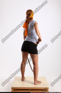 2014 11 AMY PIRATE FLINTLOCK SWORD DEFENDING POSE 04 B