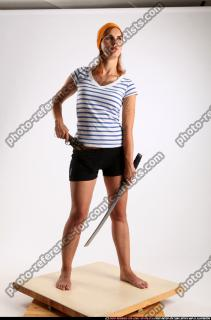 2014 11 AMY PIRATE FLINTLOCK SWORD DEFENDING POSE 07 C