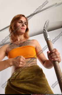 2015 05 AMY PREHISTORIC GUARDING SPEAR SHIELD 08