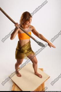 2015 08 AMY PREHISTORIC STANDING SPEAR ATTACK 07 A