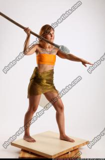 2015 08 AMY PREHISTORIC STANDING SPEAR ATTACK 07 B