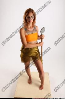 2015 11 AMY PREHISTORIC STANDING NEUTRAL POSE SPEAR 00 A