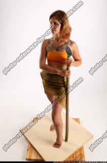 2015 11 AMY PREHISTORIC STANDING NEUTRAL POSE SPEAR 01 A