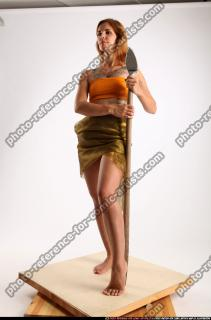 2015 11 AMY PREHISTORIC STANDING NEUTRAL POSE SPEAR 01 C