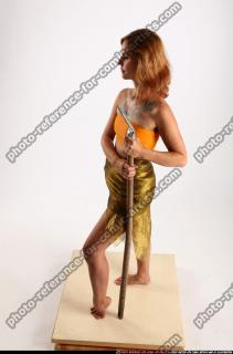 2015 11 AMY PREHISTORIC STANDING NEUTRAL POSE SPEAR 02 A