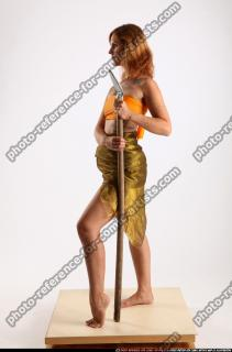 2015 11 AMY PREHISTORIC STANDING NEUTRAL POSE SPEAR 02 B