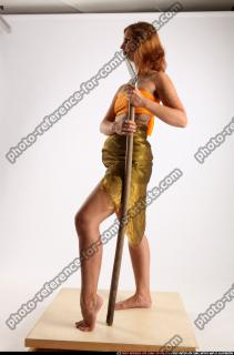 2015 11 AMY PREHISTORIC STANDING NEUTRAL POSE SPEAR 02 C