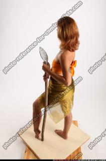 2015 11 AMY PREHISTORIC STANDING NEUTRAL POSE SPEAR 03 A