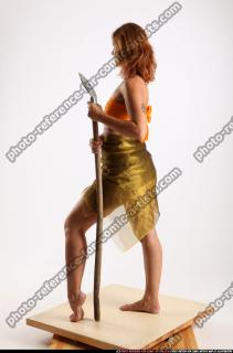 2015 11 AMY PREHISTORIC STANDING NEUTRAL POSE SPEAR 03 B
