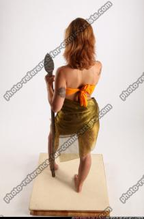 2015 11 AMY PREHISTORIC STANDING NEUTRAL POSE SPEAR 04 A