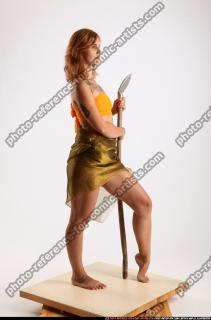 2015 11 AMY PREHISTORIC STANDING NEUTRAL POSE SPEAR 07 B