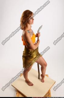 2015 11 AMY PREHISTORIC STANDING NEUTRAL POSE SPEAR 07 A