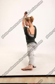 2015 11 RACHEL KNEELING SWORD POSE 02