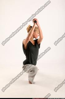 2015 11 RACHEL KNEELING SWORD POSE 06