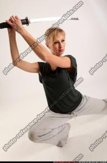 2015 11 RACHEL KNEELING SWORD POSE 10