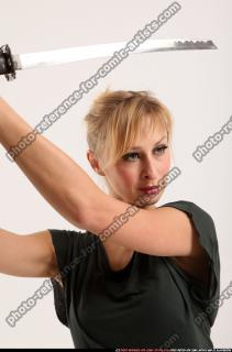 2015 11 RACHEL KNEELING SWORD POSE 09