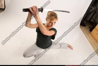 2015 11 RACHEL KNEELING SWORD POSE 12