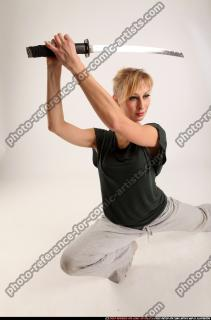 2015 11 RACHEL KNEELING SWORD POSE 11