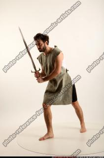 2016 04 LOGAN MEDIEVAL SWORD POSE2 01 B