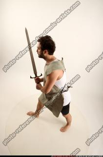 2016 04 LOGAN MEDIEVAL SWORD POSE2 02 A